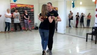Кизомба в Ижевске. UrbanKizz. Иван и Юлия. Обучение танцам в студии Мулата