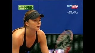 Daniela Hantuchova vs Alona Bondarenko Linz 2007 (3.Set partly)
