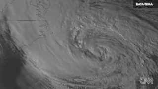 Timelapse of Sandy from space