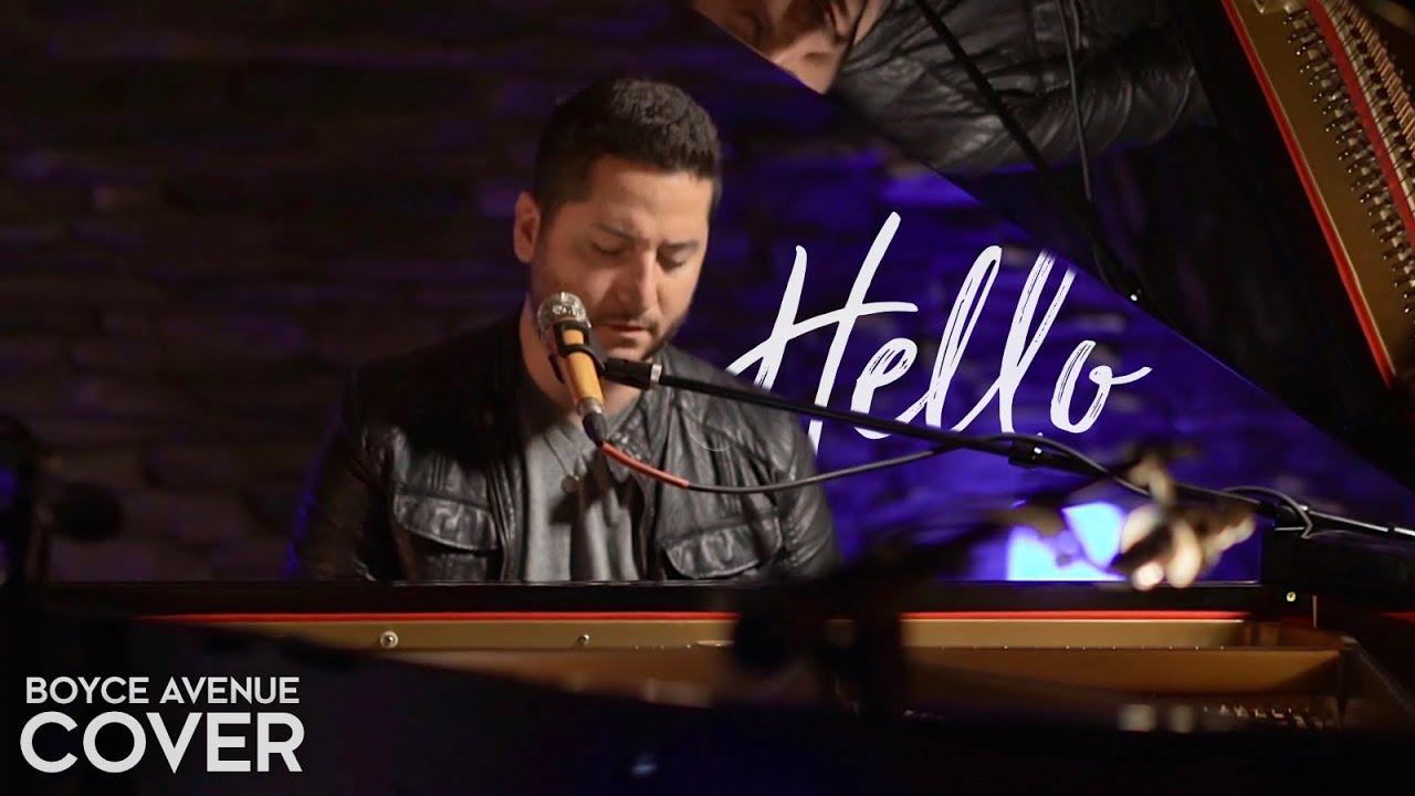Hello - Lionel Richie (Boyce Avenue piano acoustic cover) on Spotify & Apple