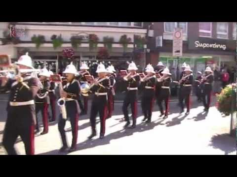 Lew's News Extra - Lympstone Commando Training Centre Royal Marine Band in Tiverton