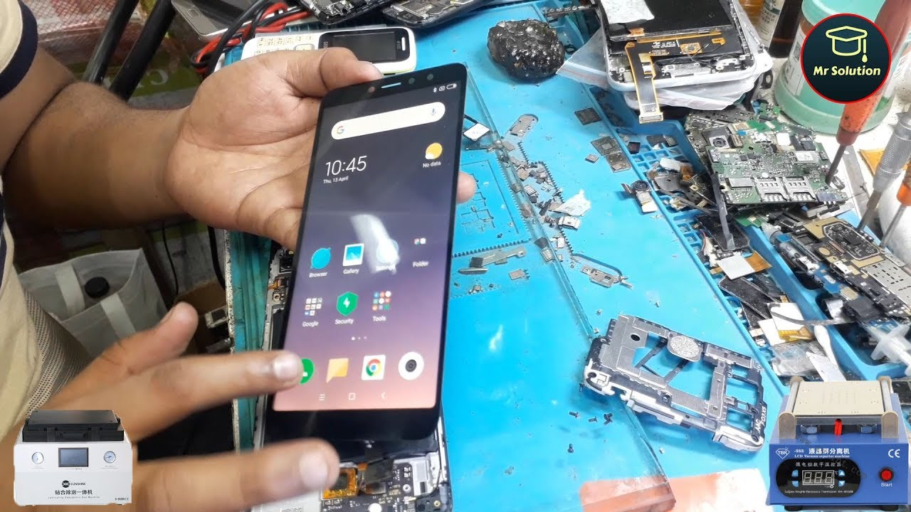 Redmi S2 OCA Touch And Display Assembly Replacement Full Guide