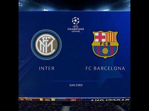 Barcelona Vs Inter Milan Live