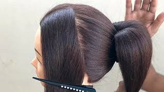 Beautiful Hairstyle   हेयर स्टाइल   Peinado   بالوں   চুলের স্টাইল   прическа