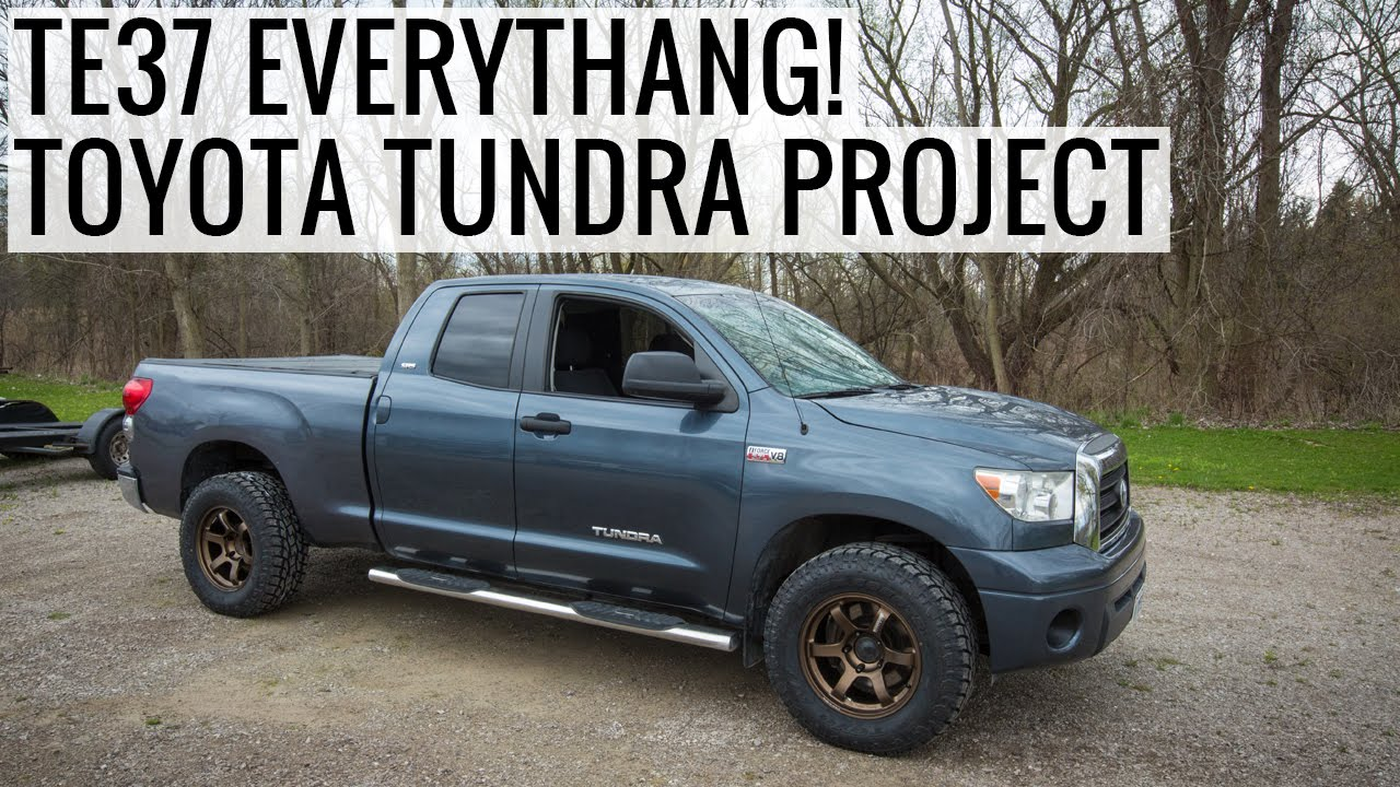 Volk TE37, Toyo Tires & K&N Intake Install - Toyota Tundra ...