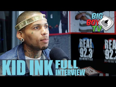 Download Kid Ink FULL INTERVIEW | BigBoyTV