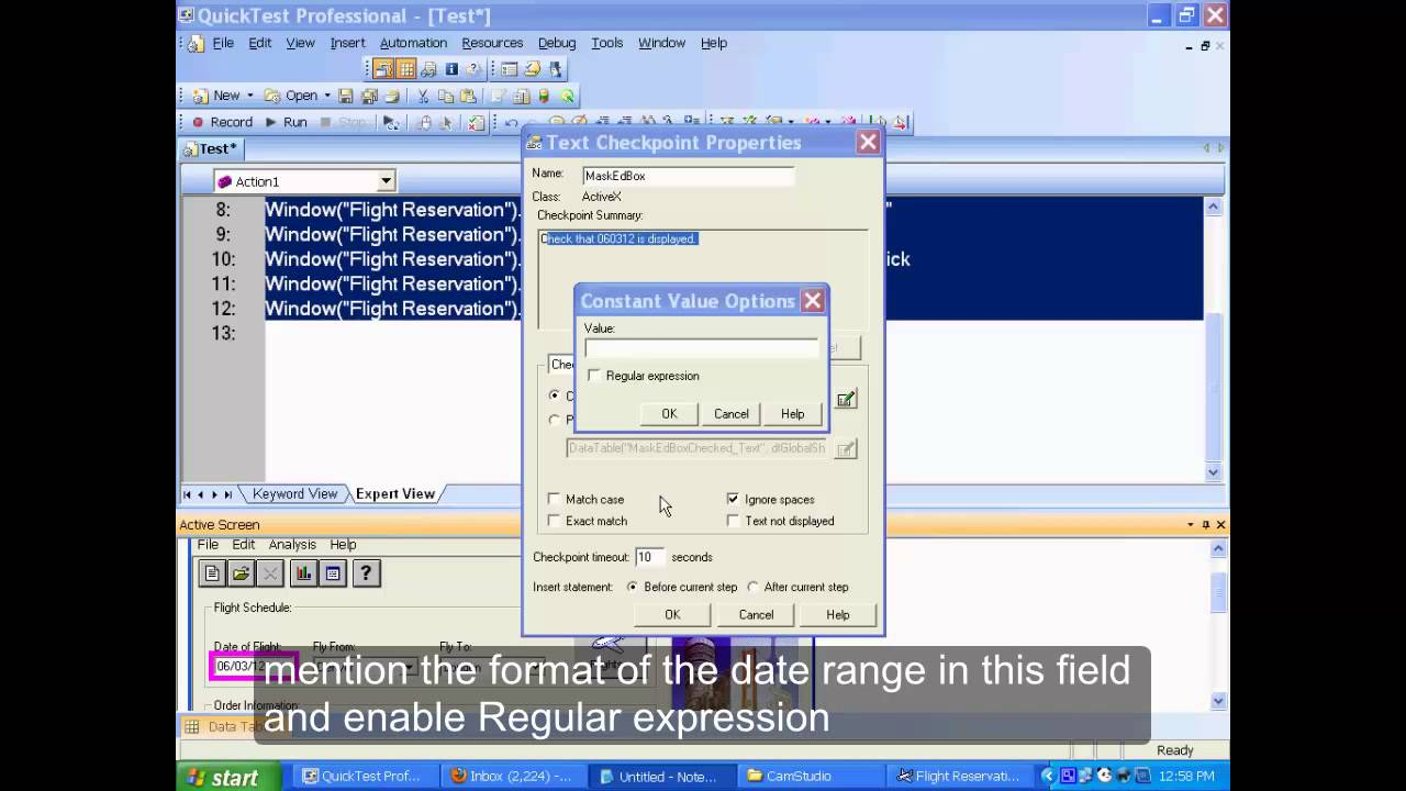 Introduction to regular expression | regular expressions | qtp.