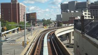A Ride on The Detroit People Mover