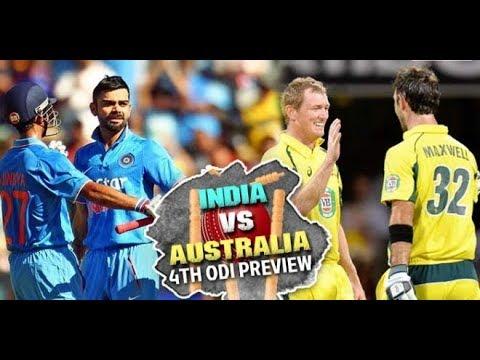 India vs Australia 4th ODI 28th Sep 2017 Chinnaswamy Stadium Bangalore   Match Preview