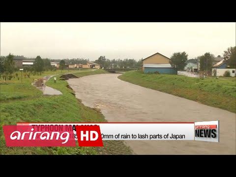Typhoon Malakas makes landfall in Japan