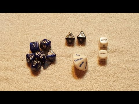 Game Master Dice Unboxing
