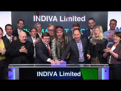 INDIVA Limited Opens TSXV Venture Exchange, January 23, 2018