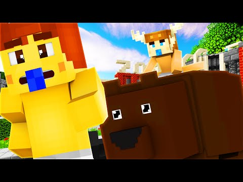 Minecraft Daycare - BABY GOES TO ZOO !?