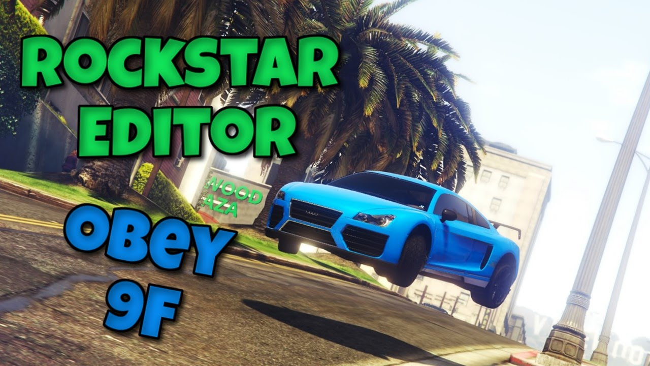 rockstar editor ps4 how to use