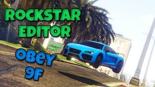 GTA 5 - New Rockstar Editor PS4 : Obey 9F Showcase