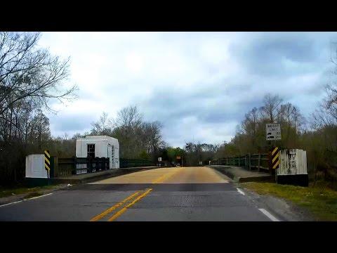 Road Trip #113 - LA-182 West - Jarvis Bridge, Gibson to US 90, Morgan City, Louisiana