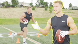 RB Drills w/ Christian McCaffrey to Improve Quickness and Footwork!