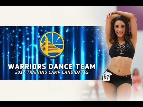 2017-18 Warriors Dance Team Training Camp Candidates