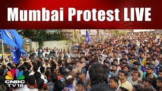 Mumbai Protest LIVE: Pune Clashes Bring Mumbai to a Halt | Bhima Koregaon Live | CNBC TV18
