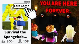 My Roblox game got popular so I made it DISTURBING...