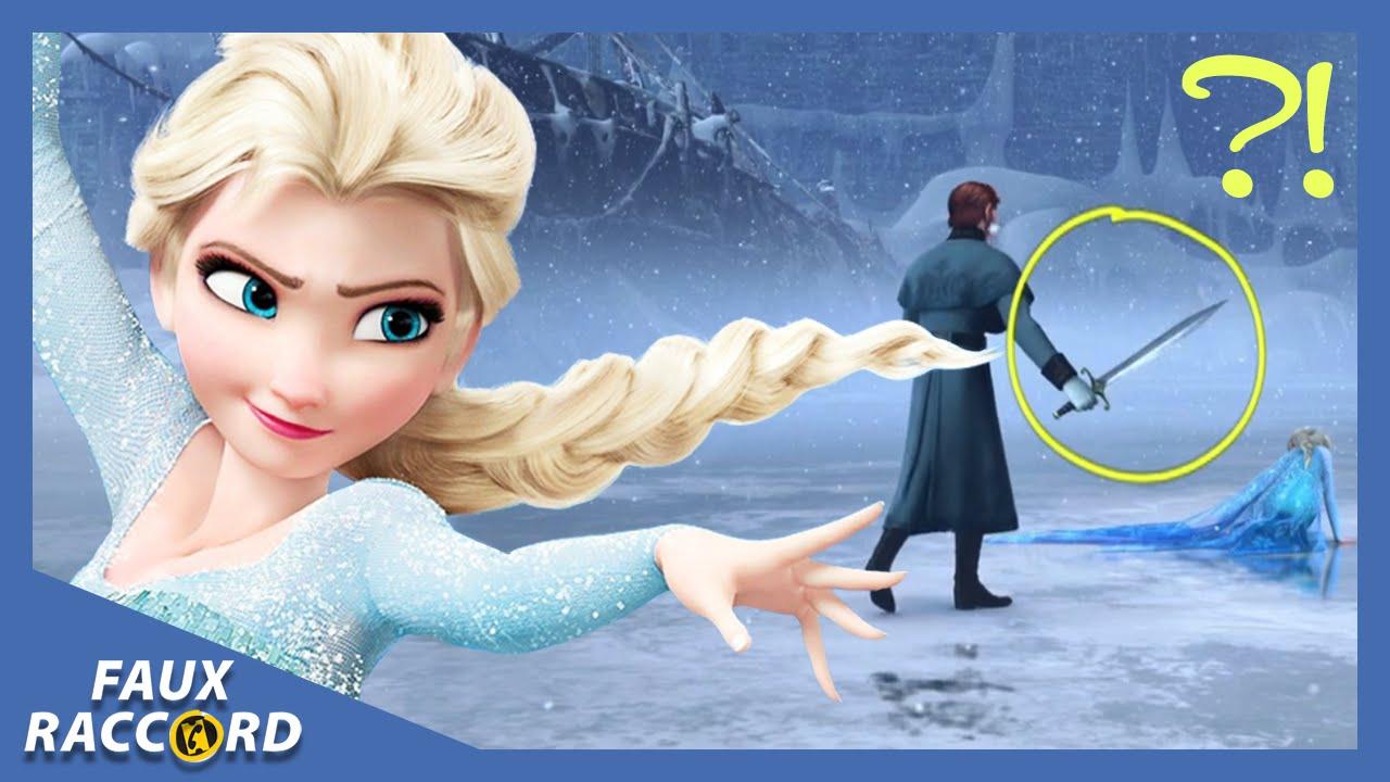 Faux raccord les plus grosses gaffes de la reine des neiges allocin youtube - La reine des neiges petite ...