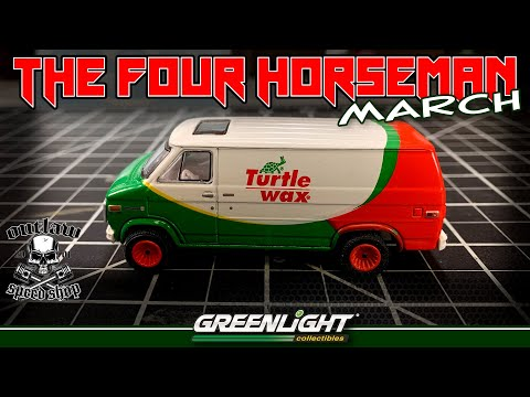 THE FOUR HORSEMAN MONTHLY BUILD FOR APRIL-GREENLIGHT COLLECTIBLES- 4x4 Van Custom