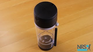 Travel Flask with Pill Cutter and Compartments Review