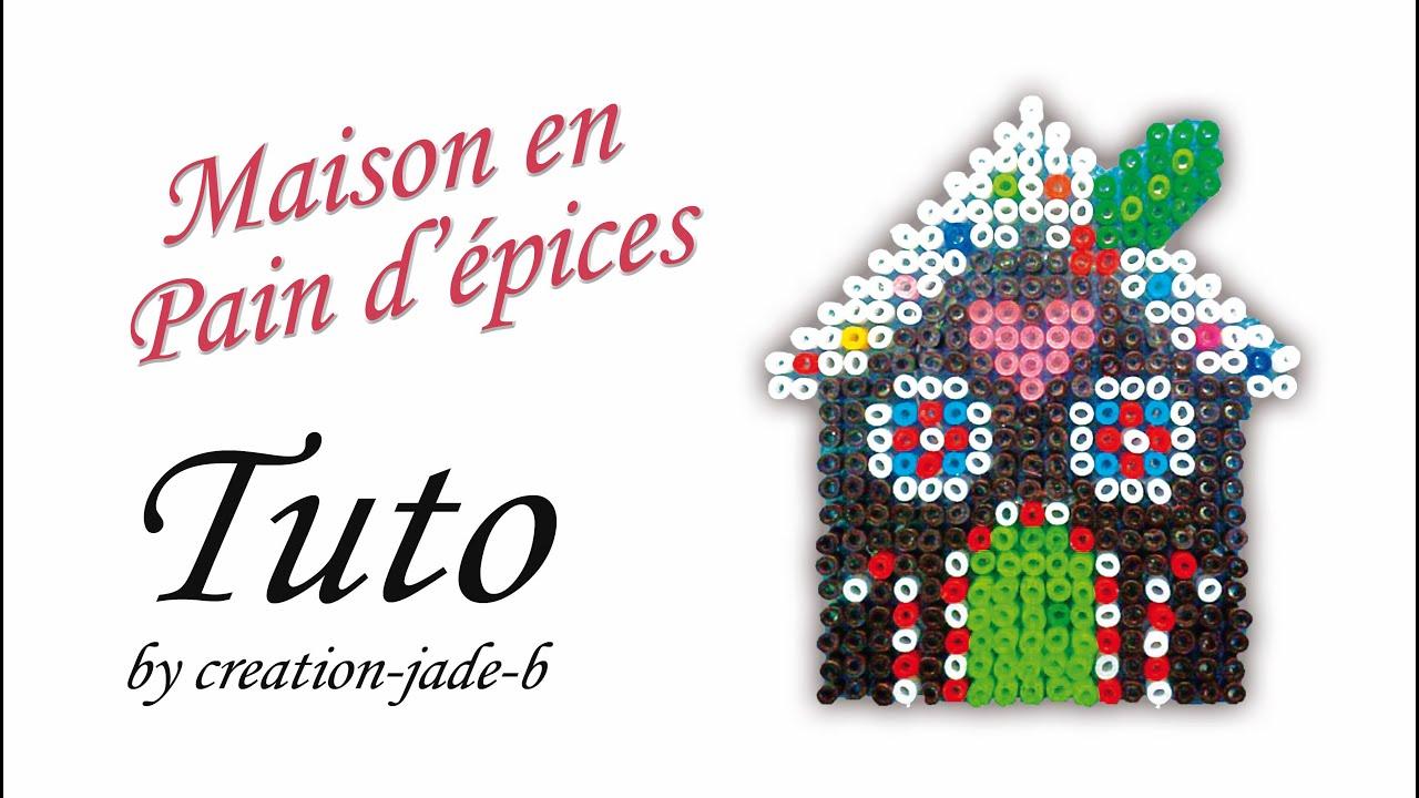 Tuto perles repasser hama maison en pain d 39 pices for Modele maison perle a repasser