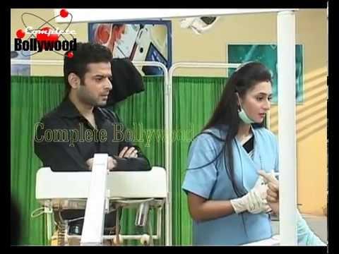 On location of TV serial ''Yeh Hai Mohabbatein'' Ishita does dental job Part 1