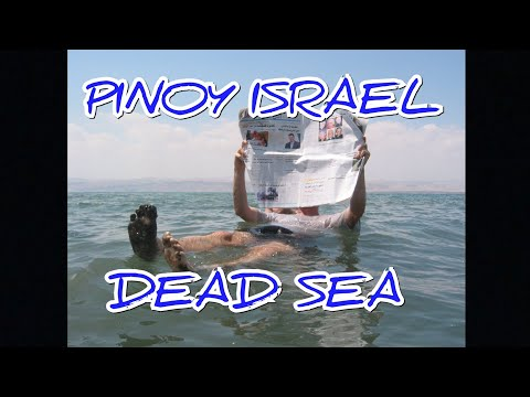 Pinoy OFW Israel - Dead Sea
