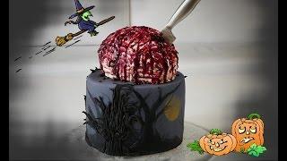 Halloween-Motivtorte | Gehirntorte | Braincake | Party-Torte von Nicoles Zuckerwerk