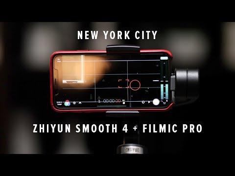 Zhiyun Smooth 4 + Filmic Pro | New York City