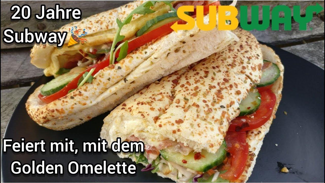 subway golden omelette