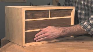 Fitting Drawers With A Handplane