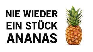 Nachdem Video wirst du nicht mehr nur ein einzelnes Stück Ananas mehr essen - Siehe Warum!