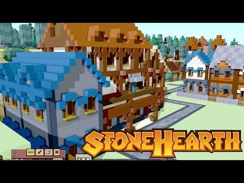 Manor Home | Stonehearth | Alpha 18 | Gameplay