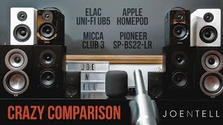 Apple HomePod vs Bookshelf Speakers
