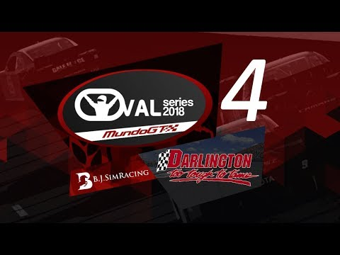 iRacing #MGTOval 2018 (Carrera 4/6) Darlington Raceway