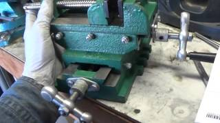 Cross sliding vise Grizzly G1064