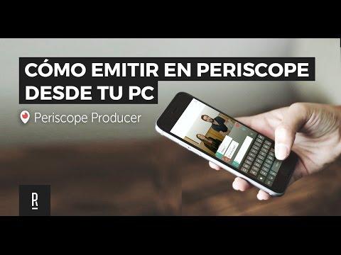 Tutorial Periscope Producer