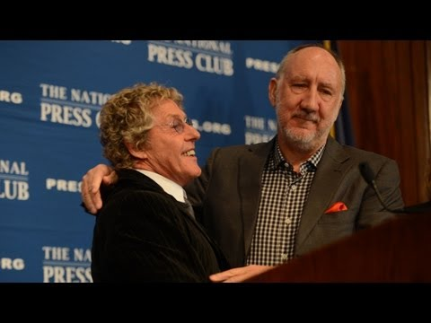 NPC Luncheon with Roger Daltrey Pete Townshend of The Who