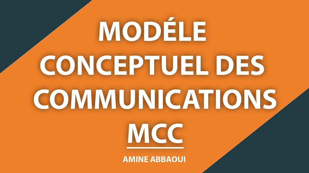 Modèle conceptuel de communication - YouTube