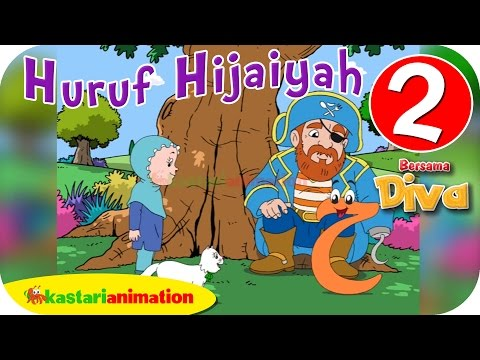 Huruf Hijaiyah Bersama Diva (full Version)   Part 2   - Kastari Animation Official