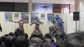 とあるショッピングモールでの戦いです(^O^)