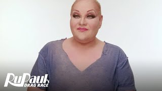 RuPaul's Drag Race | RuVealing Victoria 'Porkchop' Parker 'Girl on the Go' Makeup Tutorial | Logo