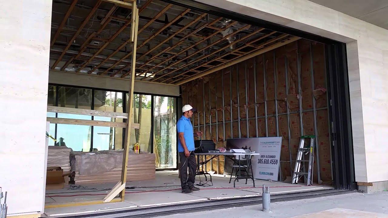 Miami Fleetwood Sliding Glass Door Automation - YouTube