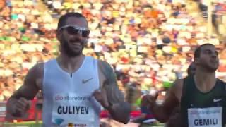 Ramil Guliyev 200m Kazananı IAAF Diamond Leugue Oslo