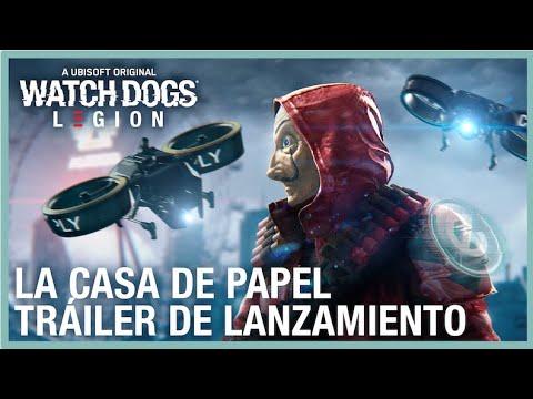 Watch Dogs: Legion - La Casa de Papel Tráiler de Lanzamiento   Ubisoft LATAM