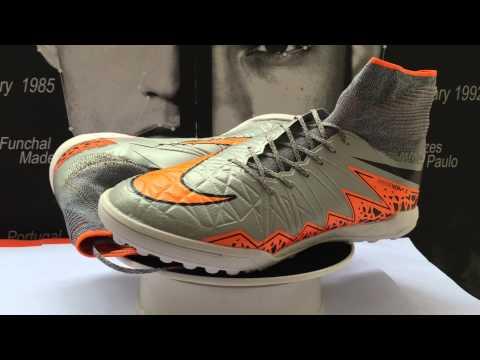 Arrivé: Chaussure De Foot Nike HypervenomX Proximo TF Grise Orange Noir Nouvelle