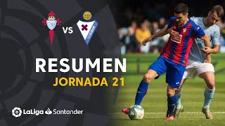 Resumen de RC Celta vs SD Eibar (0-0)